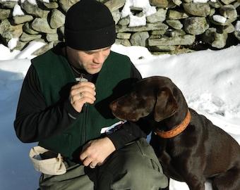 LEATHER Dog Training Treat Waist Bait Agility Bag Puppy Pouch Reward Obedience