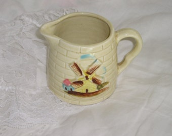 Windmill Creamer Made in Japan  from Carla's Vintage Finds