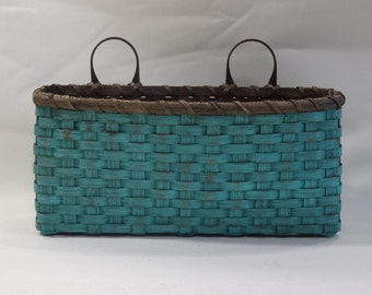 Large Wall Basket-Wall Decor- Handwoven Basket-Primitive Style