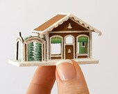 Micro Gingerbread Ornament Shop Kit