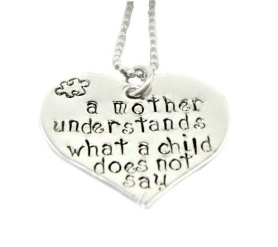 Autism Heart and Saying - Autism Awareness - Autistic