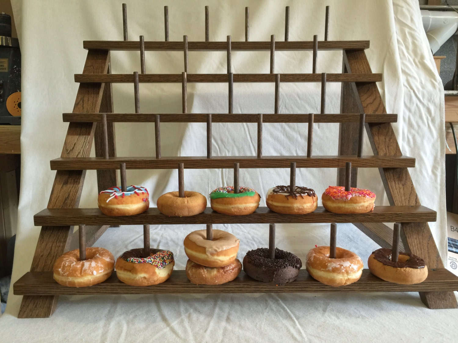 Custom Donut Stand Can Be Adapted To Fit Cake Pops Or Push
