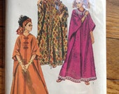 Simplicity 8354 Zip Front Caftan Sewing Pattern One Size