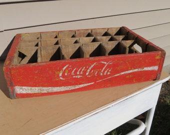 Vintage Coca Cola Soda Crate.