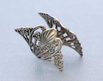 Filigree Ring,Flower Silver Ring,Jewelry Gift, Ring,Silver,Flower,Antique Ring,Silver Ring,Blossom,Wedding,Bridesmaid.