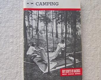 Vintage Camping Boy Scouts Of America 1990 Merit Badge Series