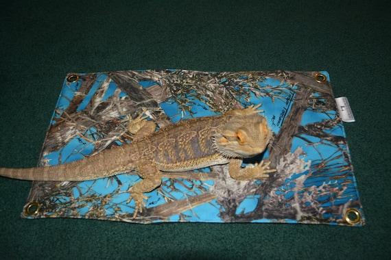 like this item  bearded dragon hammock bed blue real tree camo  rh   etsy