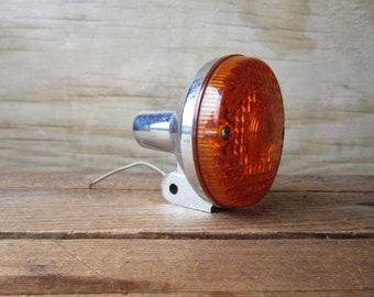 Rustic Vintage Tail Light Industrial Decor