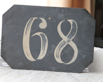Antique French number
