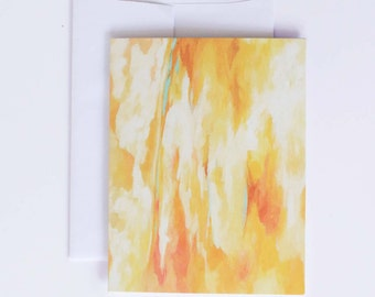 "Stationary Note Cards - Fine Art Note Card Set - Blank Note Cards - ""La Luz"""