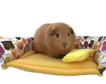 Breakfast food guinea pig couch