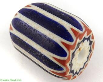 Chevron Venetian Trade Bead Six Layer Africa 97753