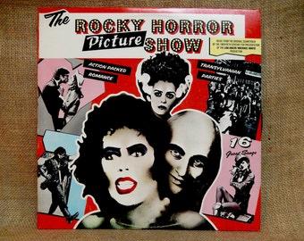 CRAZY CUPID SALE The Rocky Horror Picture SHOw - Original Motion Picture Soundtrack - 1975 Vintage Vinyl Record Album