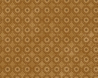 Down to Earth Buggy Barn Gold Circle Flower by Henry Glass