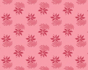 Dargate Vines Rose Tonal Floral by Margo Krager for Andover Fabrics