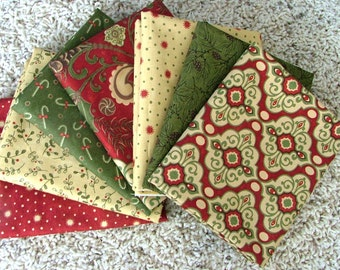 LAST ONE Pine Fresh Fat Quarter Bundle of 7 by Sandy Gervais for Moda