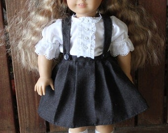 Eloise costume 3 piece set for 18in American girl dolls