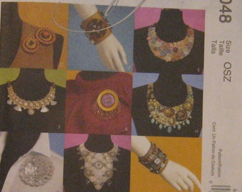 McCall's Crafty Pattern - Necklaces, Bracelets and Pins
