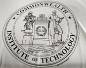 DISCONTINUED! Commonwealth Institute of Technology Atompunk Fan Hoodie