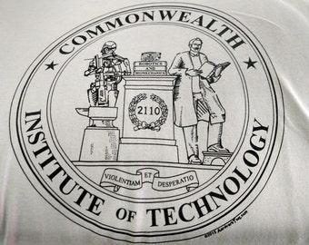Commonwealth Institute of Technology Atompunk Fan Hoodie
