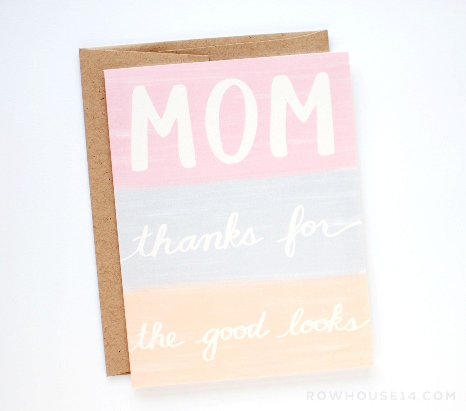 funny mothers day card mother u0027s day card mom thanks