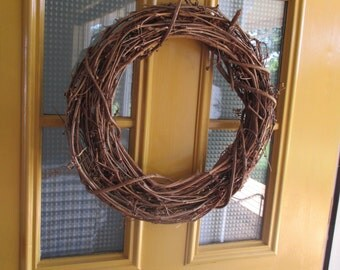 Vintage Grapevine/Twig Wreaths - 20 inch and 18 inch