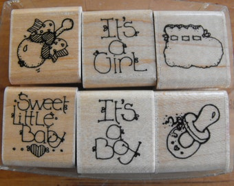 CTMH Close to my heart - Stamp Set  - Baby's Set - Set 62