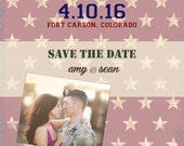 flag save the date, Save the date postcards, Save the date cards, Save the date magnets, Save the date invitations, Save the dates