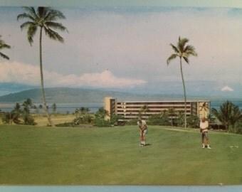 Kaanapali Beach Hotel 1970s Championship Golf Course
