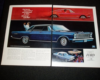 Ads, 1965 Fords, Guardian Life, Masonite