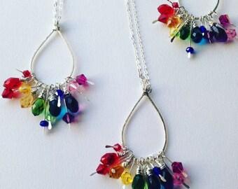 Rainbow Funding Necklace