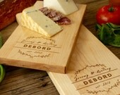 Cheese Board, Bread Board, Engraved Cutting Board, Chopping Block, Personalized Gift, Wedding Gift, Anniversary Gift, Housewarming Gift