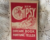 A Rare Copy Of New Gipsy Dream Book & Fortune Teller Paperback Book