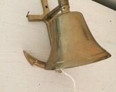 Brass Bell - Anchor Wall Bell