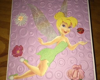 Tinkerbell Birthday card
