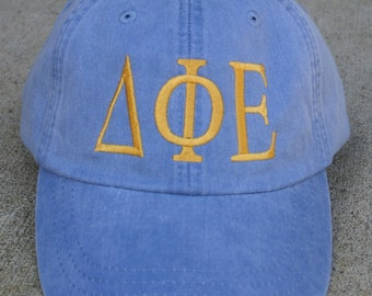 Delta Phi Epsilon baseball cap