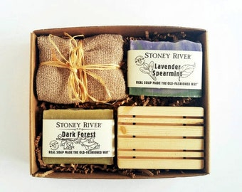 Natural soap, gift for mom, bath gift, spa gift, soap saver, natural skin care, handcrafted handmade soap, gift for girlfriend, gift for mom