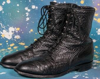 Men's Black Lacer Boot Size 10 D
