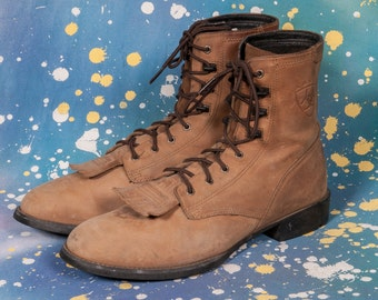 ARIAT Brown Lacer Boot Women's Size 8 .5 B