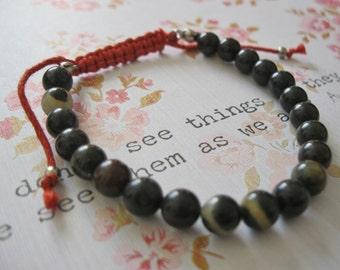 Buddhist Prayer Bead Mala Bracelet