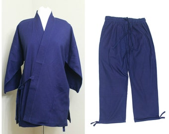 Monk's Work Wear. Japanese Traditional Clothing. Vintage Jacket (Ref: 1357)