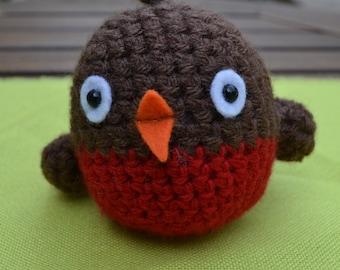 Hand Crocheted Little Bird