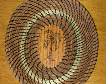 Pine Needle and Sweetgrass Basket
