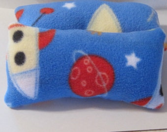Tiny Fleece Pillow, Wrist Rest Mouse Support, Baby Lovey Pillow