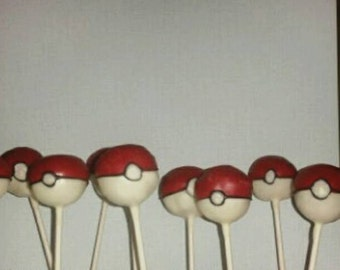 12 Pokemon inspired cake pops Pokémon party favors