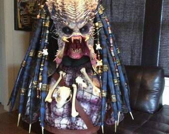 Predator Elder Life Size Bust