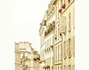 Paris Photography, Paris art, Paris art print, white Paris - Paris en blanc