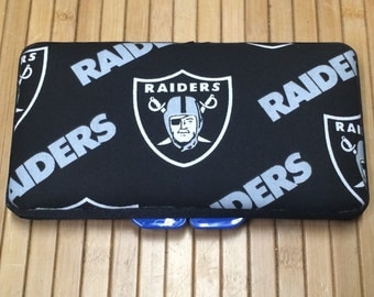 Oakland Raiders Baby Boy or Girl Wipe Case NFL Football