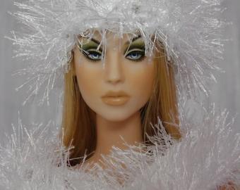 """for 16"""" Doll crochet Grass Set """"White"""" - Tonner Sybarite Gene - AllforDoll STYLE"""