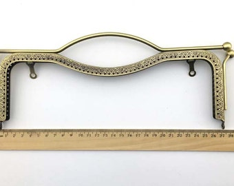 27cm(10.6inch) antique bronze purse metal bag frame A392-antique bronze